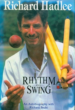 Secondhand Used Book - RHYTHM AND SWING by Richard Hadlee with Richard Becht