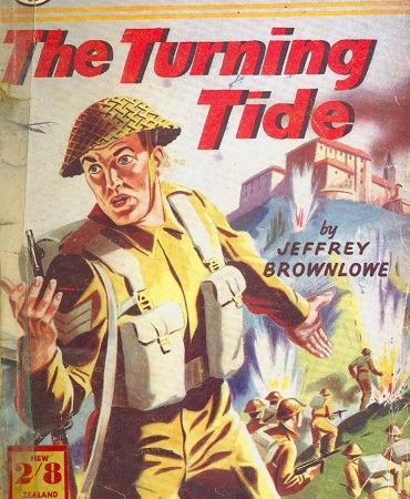 Secondhand Used Book - THE TURNING TIDE by Jeffrey Brownlowe