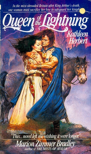 Secondhand Used Book - QUEEN OF THE LIGHTNING by Kathleen Herbert