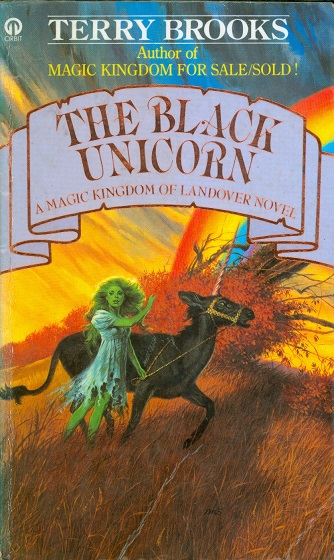 Secondhand Used Book - THE BLACK UNICORN by Terry Brooks