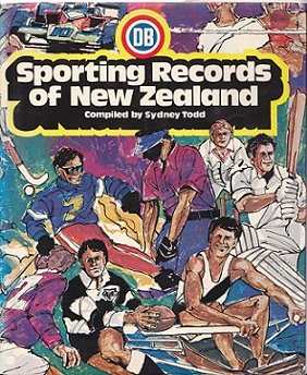 Secondhand Used Book - DB SPORTING RECORDS OF NEW ZEALAND compiled by Sydney Todd