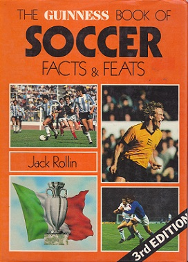 Secondhand Used Book - THE GUINNESS BOOK OF SOCCER: FACTS & FEATS by Jack Rollin