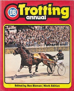 Secondhand Used Book - DB TROTTING ANNUAL edited by Ron Bisman