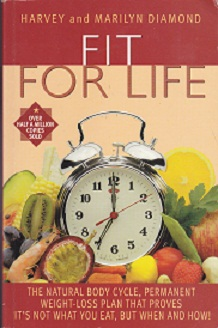 Secondhand Used Book - FIT FOR LIFE by Harvey and Marilyn Diamond