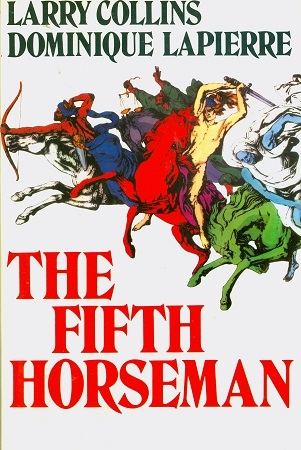 Secondhand Used Book - THE FIFTH HORSEMAN by Larry Collins and Dominique Lapierre
