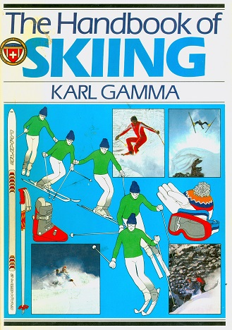 Secondhand Used Book - THE HANDBOOK OF SKIING by Karl Gamma