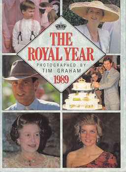 Secondhand Used Book - THE ROYAL YEAR 1989 photographed by Tim Graham