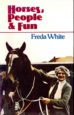 Secondhand Used Book - HORSES, PEOPLE & FUN by Freda White