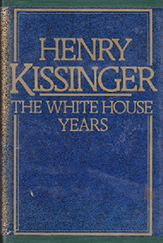 Secondhand Used Book - THE WHITE HOUSE YEARS by Henry Kissinger