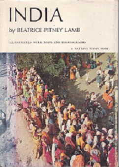 Secondhand Used Book - INDIA by Beatrice Pitney Lamb