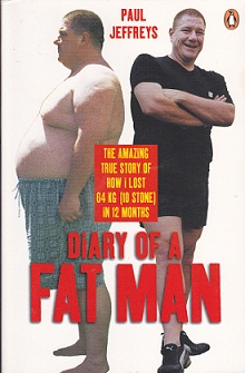Secondhand Used Book - DIARY OF A FAT MAN by Paul Jeffreys