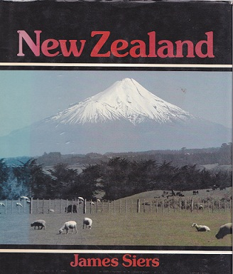 Secondhand Used Book - NEW ZEALAND by James Siers
