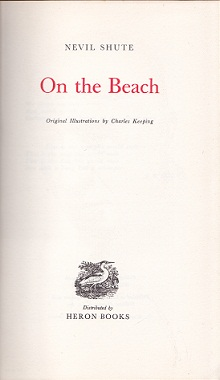 Secondhand Used Book - ON THE BEACH by Nevil Shute