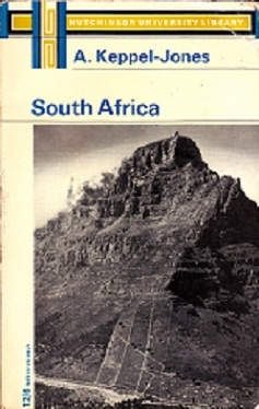 Secondhand Used Book - SOUTH AFRICA by A Keppel-Jones