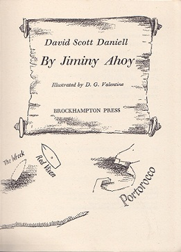Secondhand Used Book - JIMINY AHOY by David Scott Daniell