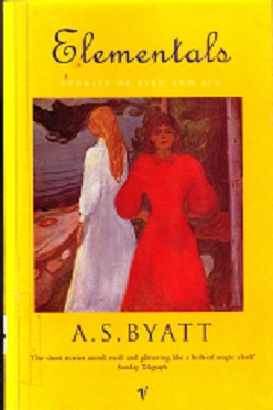 Secondhand Used Book - ELEMENTALS: STORIES OF FIRE AND ICE by A S Byatt